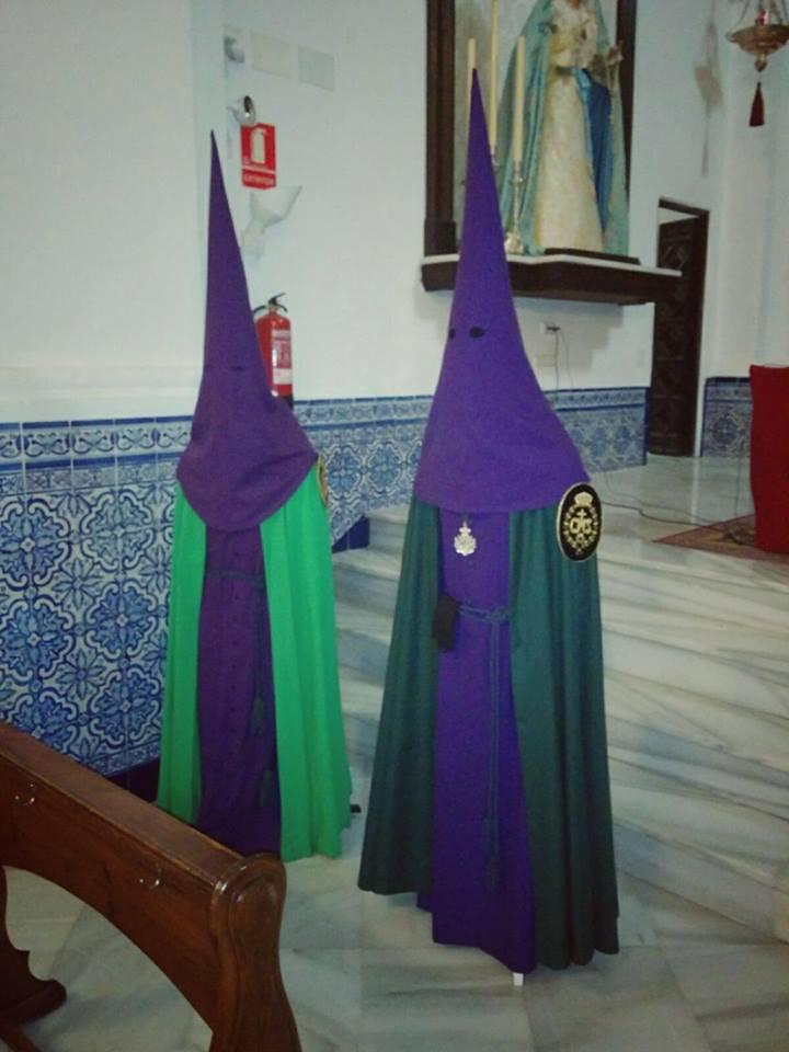 Comparación de las dos túnicas