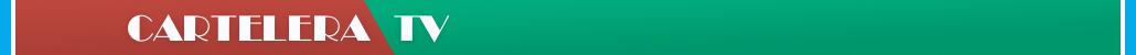 Cartelera TV - Banner